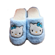 Load image into Gallery viewer, Hello Kitten Slippers.