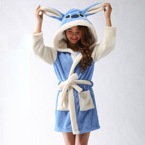 Women's Soft Animal Dress Robes