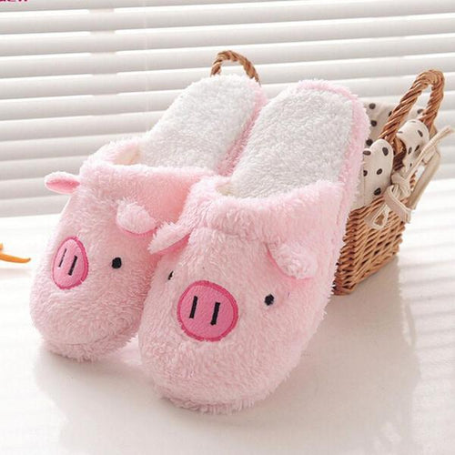 Women's Cute Piggy Slippers.