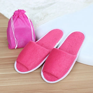 Men's Classic Home Away From Home Disposable Slippers.