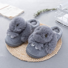 Load image into Gallery viewer, Animal Print Winter Warm Slippers