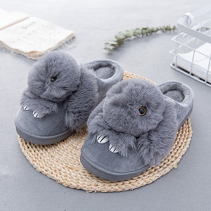 Animal Print Winter Warm Slippers
