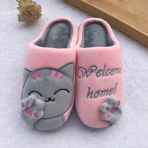 Women's Non-Slip Animal Slippers.