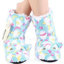 Load image into Gallery viewer, Cute Cartoon Slipper Boots.