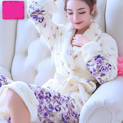 Flower Bath Robe.