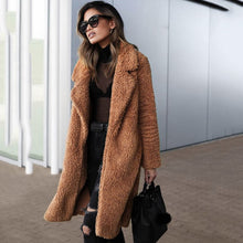 Load image into Gallery viewer, Women Faux Fur Coat