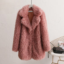 Load image into Gallery viewer, Faux Fur Coat Winter Teddy Coat