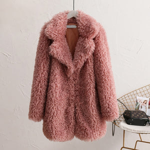 Faux Fur Coat Winter Teddy Coat