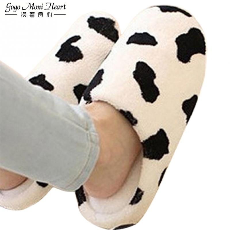 Moo Who Slippers