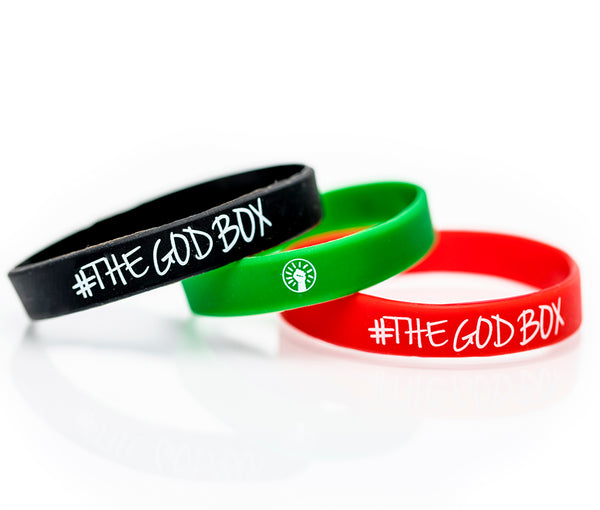 DB / The God Box Wristbands - Black, Red, Green