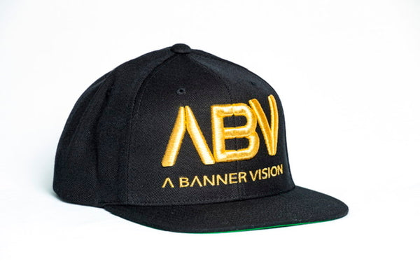 Limited Edition ABV Hat in Gold/Black