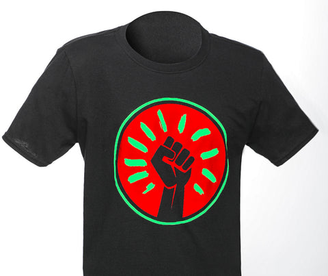 Black Fist T-Shirt - Black