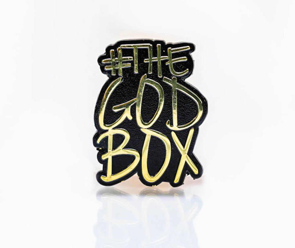 The God Box Gold Pin