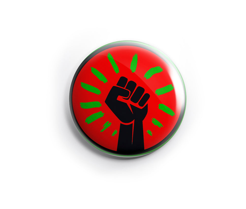 Black Fist Pin