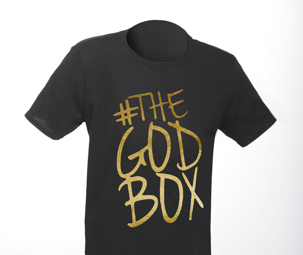 The God Box T-shirt - Black