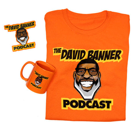 The David Banner Podcast Trio - Orange