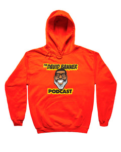 The David Banner Podcast Hoodie- Orange