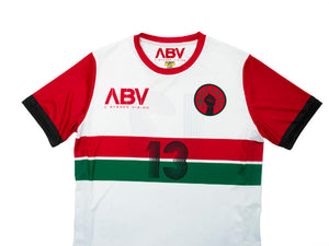 ABV / Black Fist Soccer Jersey - White