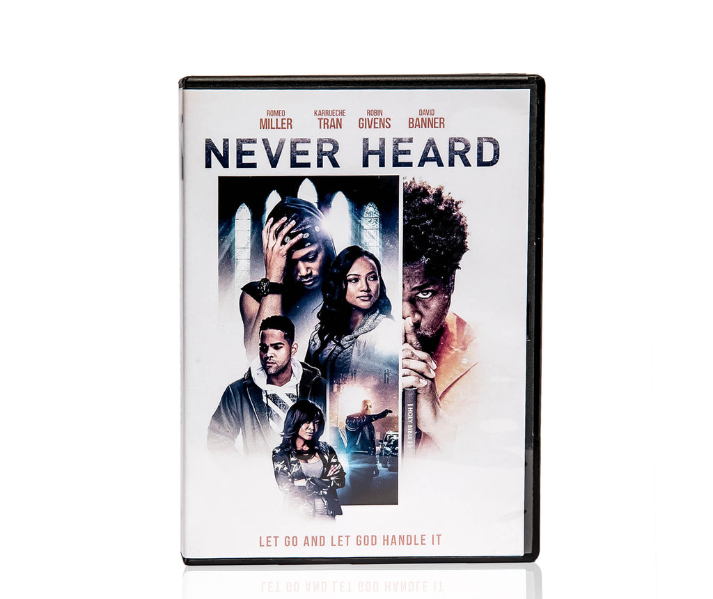 Never Heard Movie (signed by David Banner)