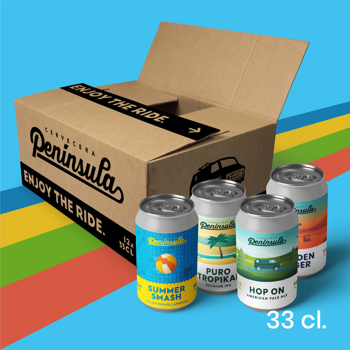 12-Pack Hashtag + Golden Lager + Yuzu Squeezer + Summer Fling