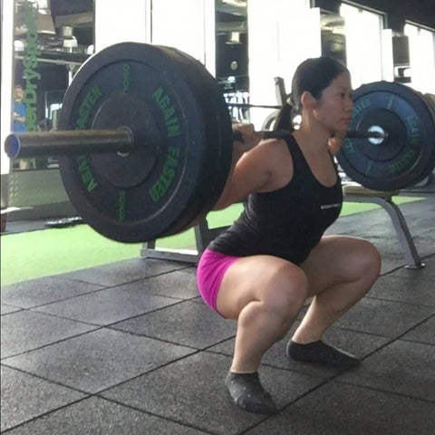 Weightlifter - Claudia Nah