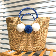 Load image into Gallery viewer, Siroi Reed Grass Mardi Bag Blue (Free 2 Ply Cotton Mask)