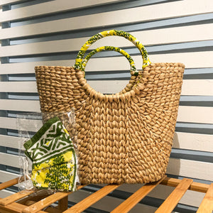 Siroi Reed Grass Mardi Bag Yellow (Free 2 Ply Cotton Mask)
