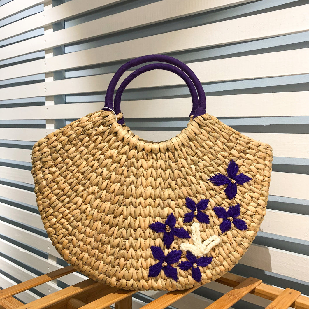 Siroi Reed Grass Jane Embroidered Bag (Free 2 Ply Cotton Mask)