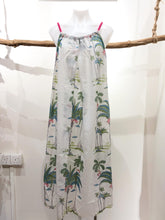 Load image into Gallery viewer, White Palm Balo Dress