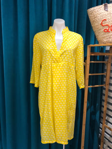 Yellow Elephant Wing Dress