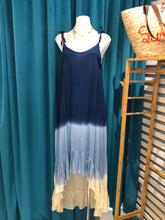 Load image into Gallery viewer, Blue Ombre High Low Dress