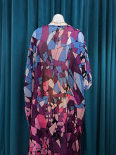 Load image into Gallery viewer, Purple Printed Kimono