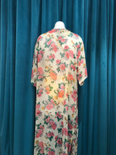 Load image into Gallery viewer, Maxi Kimono Outer Floral Beige