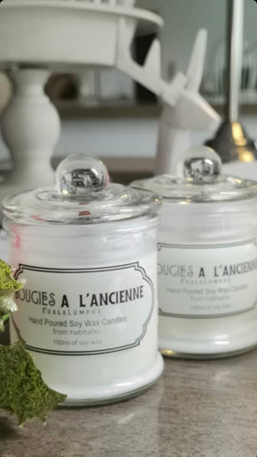 89gr (20hrs) Luxury Collection Scented Candles