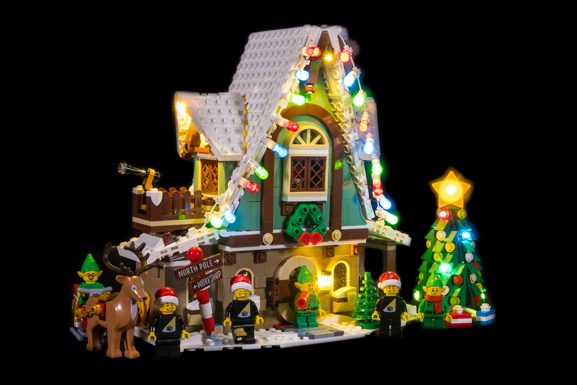 LEGO Elf Club House 10275 Review & Lighting Journal