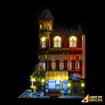 LEGO LED Light Kit for 10182 Cafe Corner Side