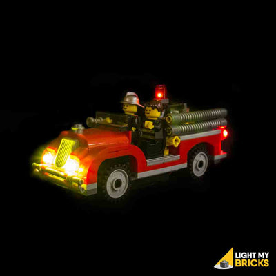 LEGO LED Light Kit for 10197 Fire Brigade Firetruck Front