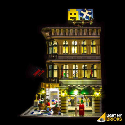 LEGO LED Light Kit for 10211 Grand Emporium Side 2