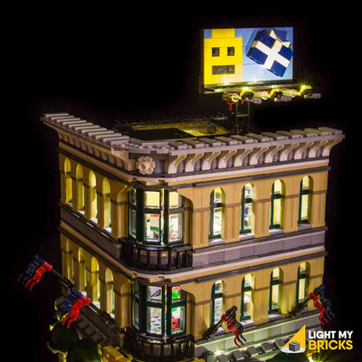 LEGO LED Light Kit for 10211 Grand Emporium Billboard