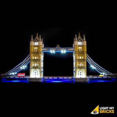 LEGO LED Light Kit for 10214 Tower Bridge Straight
