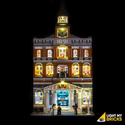 LEGO LED Light Kit for 10224 Town Hall Straight