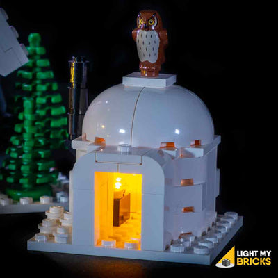 LEGO LED Light Kit for 10229 Winter Village Cottage Igloo