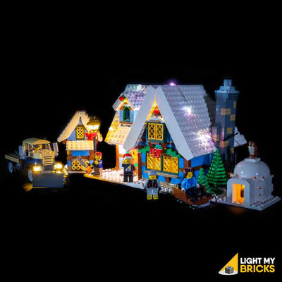 LEGO LED Light Kit for 10229 Winter Village Cottage Front