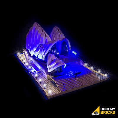 LEGO LED Light Kit for 10234 Sydney Opera House Rear