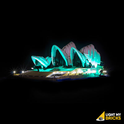 LEGO LED Light Kit for 10234 Sydney Opera House Front 2