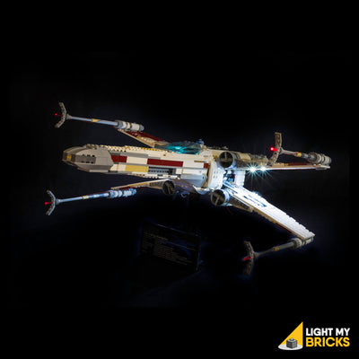 LEGO LED Light Kit for 10240 Star Wars UCS X-wing Starfighter Front