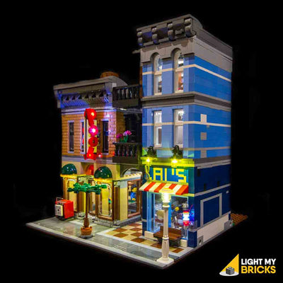 LEGO LED Light Kit for 10246 Detective's Office Front
