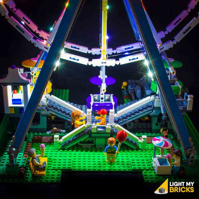 LEGO LED Light Kit for 10247 Ferris Wheel Entrance