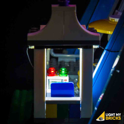 LEGO LED Light Kit for 10247 Ferris Wheel Control Booth