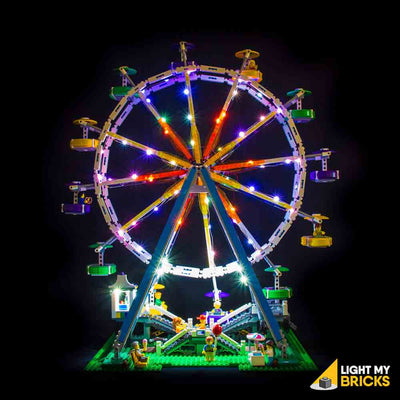 LEGO LED Light Kit for 10247 Ferris Wheel Straight